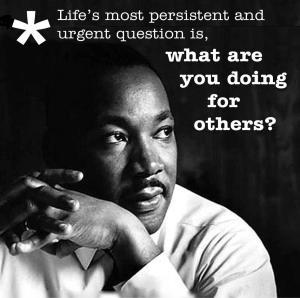 MLK serve others